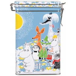 Moomin Summer Day Coffee Tin Box