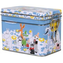 Moomin Summer Day Tea Tin Box