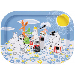 Moomin Summer Day Tin Tray