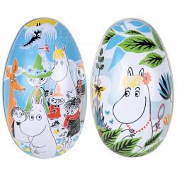 Moomin Summer Day Easter Tin Egg 2 pcs
