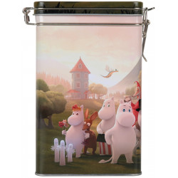Moominvalley Coffee Tin Box