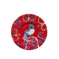 Taika Red Saucer 15 cm Iittala