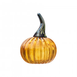 Iittala Glass Pumpkin from Fruits and Vegetables Series Oiva Toikka