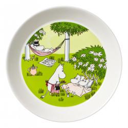 Moomin Plate 19 cm Relaxing...