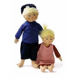 Emil and Ida Textile Dolls...
