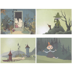 Moomin Set of 4 Posters 24...