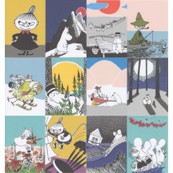 Moomin Set of 12 Postcards