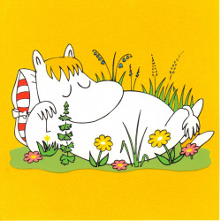 Moomin Velvet Greeting Card...