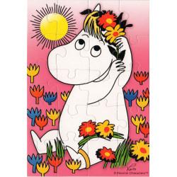 Moomin Puzzle Card...