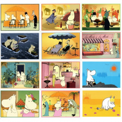 Moomin Set of 12 Postcards...