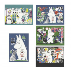 Moomin Postcard Moomintroll...