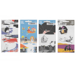 Moomin Retro Stickers Karto...