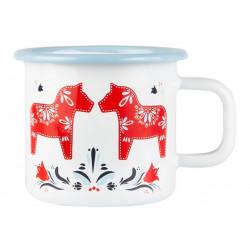 Enamel Mug 0.37 L Dalarna