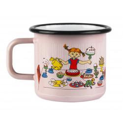 Enamel Mug 0.37 L Pippis...