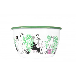Moomin Enamel Bowl 2 L Day...