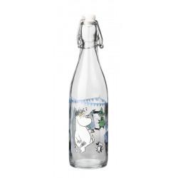 Moomin Glass Bottle 0.5 L...