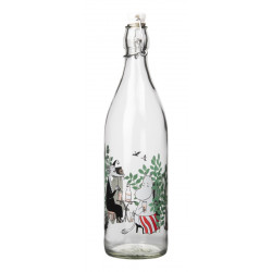Moomin Glass Bottle 1 L Day...