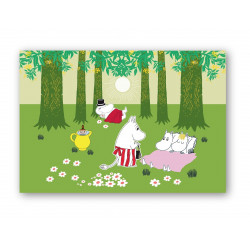 Moomin Placemat Relaxing...