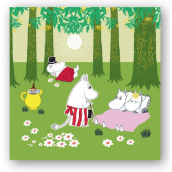 Moomin Napkins Relaxing...