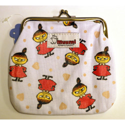 Moomin Medium Pouch White Little My Martinex