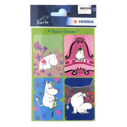Moomin Tove 100 Stickers...