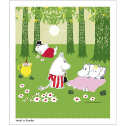 Moomin Dishcloth Relaxing...