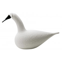 Birds by Toikka Karelia Whooper Swan White 330 x 210 mm Iittala