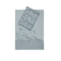 Moomin Teatowel Grey Oursea...
