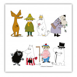 Moomin Napkins Moomin On...
