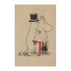 Moomin Wooden Postcard...
