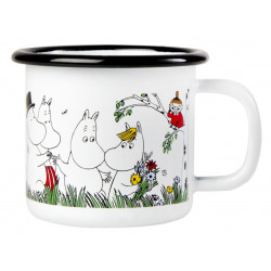 Moomin Enamel Mug Happy...