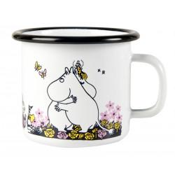 Moomin Enamel Mug Hug White...