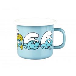 Smurf Enamel Mug 0.25 L Outlet