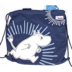 Moomin Gym Bag Blue
