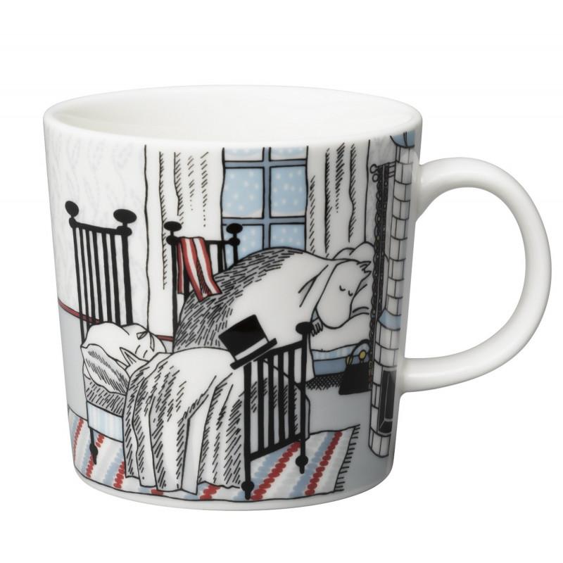 Moomin Mug 0.3 L Winter Christmas 2015 Hibernation Arabia