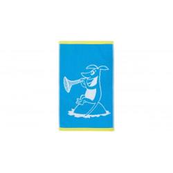 Moomin Hand Towel Samu Blue...