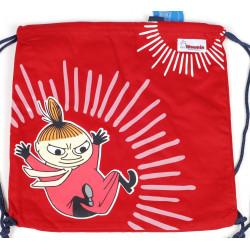 Moomin Gym Bag Red