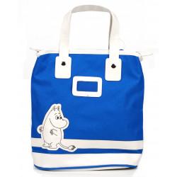 Moomin Small Tote Bag Moomitroll Blue