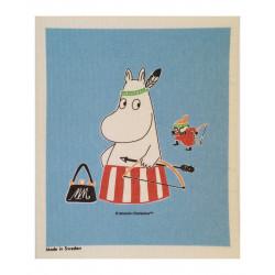 Moomin Dishcloth Blue...