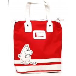 Moomin Small Tote Bag Moomitroll Red
