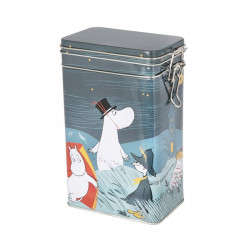 Moomin Coffee Tea Tin Box...