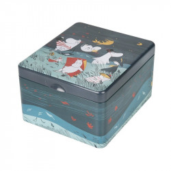 Moomin Storm Tin Box for...