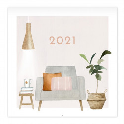 Henna Adel 2021 Mini Wall...