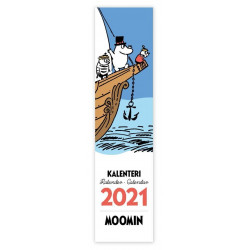 Moomin Bookmark Calendar 2021