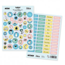 Moomin Sticker Set Finnish...