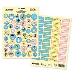 Moomin Sticker Set English...