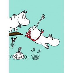 Moomin Small Notebook 9 x...