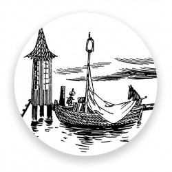 Moomin Magnet The Boat and...