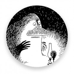 Moomin Magnet Groke and the...