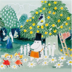 Moomin Napkins Magic Meadow...